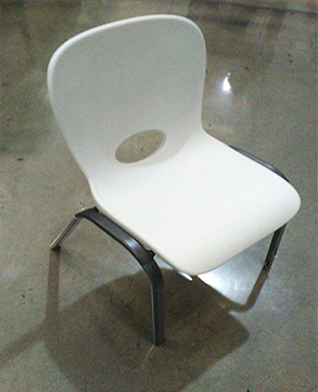 Little Kid's White Chair for Rent