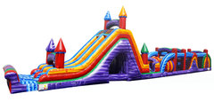 Interactive 86 Ft Obstacle Course