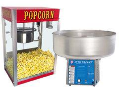 Cotton Candy, Popcorn and Sno Cone machine rentals