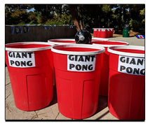 Giant Beer Pong Game for Adults