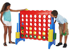 Giant games! Giant Jenga, Giant connect 4 and many more games for rent!