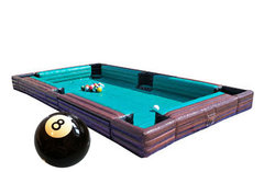 Inflatable Billiards Pool Game