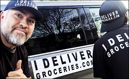 I Deliver Groceries Right To Your Front Door 7 Days A Week