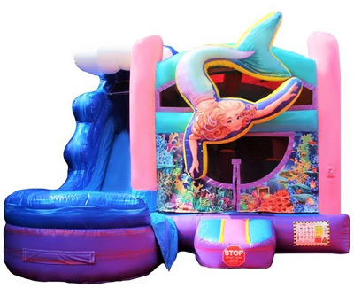 Mermaid Bounce Houses Jump Houses near me.