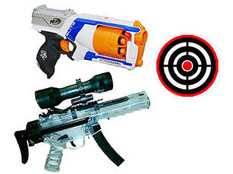 Laser Tag | Nerf Parties | Nerf Rival | Water Tag from Party WIth 630