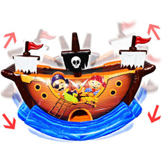 Pirate Ship party rentals from Partywith630.com