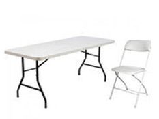 Table and Chair rentals from Party WIth 630
