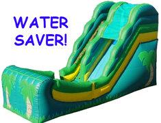 Big Tropical Water Slide NO Pool