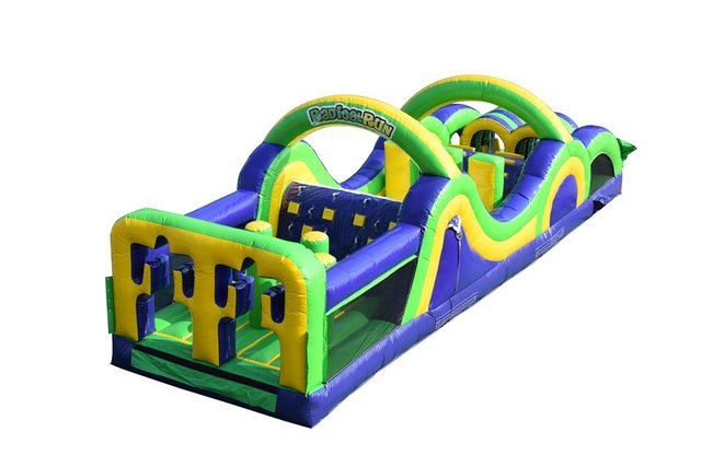 276 - Obstacle Course - Radical 35 with 10 Ft Slide