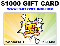 Gift Card of $1000 for $800