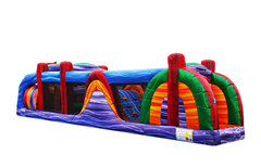 282 - Obstacle Course - 40 Ft with 10 Ft Slide