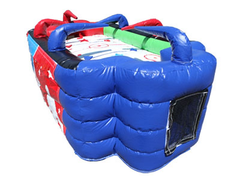 <font color=red><b>Inflatable Air Hockey Game</font><small><br>Best for ages 3+<br>3 on 3 or Free for all<br>