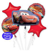 Cars Balloon Bouquet
