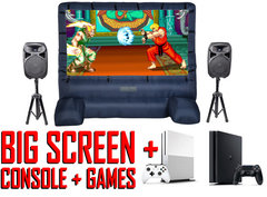 Video Games With Big Screen