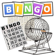 <font color=red><b>Bingo Game (Up to 25 Players)<br></font><font color=grey><b><small>Comes w/Table and 1 Chair<br><font color=blue>Fun for everybody!