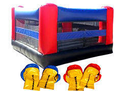 <font color=red><b>Boxing Ring</font><small><br>Best for Ages 4+<br>With Giant Gloves<br>Can also be a Jumper