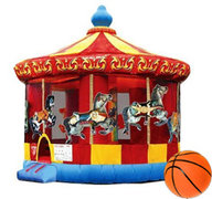16 Ft Round Merry Go Round for Carnival