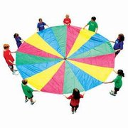 <font color=red><b>20 Ft Kids Parachutte<br></font>Best for ages 4+<br>