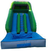 <font color=red><b>Two Lane Water Slide</font><small><br>With a 300 Galon Pool<br>Slide right into it