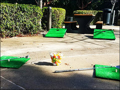 [Party Package] Golf Hole In One, Corn Hole and Dunk Tank