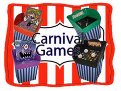 <font color=red><b>Carnival Games<br></font><small>Best for ages 2+<br><font color=blue>4 Different games</font></small>