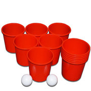 <font color=red><b>Kids Pong<br></font><small>Best for ages 3+<br><font color=blue>12 Buckets and 2 Balls</font>