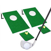<font color=red><b>Golf - Hole In One</font><small><br>2 Golf Clubs<br>1 Bucker of High-Density foam balls