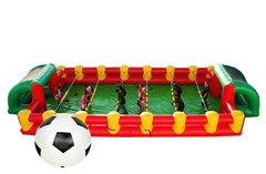 <font color=red><b>Human Foosball Game<br></font><small>Best for ages 4+<br><font color=blue>Space needed 45 D x 20 W x 8 H</font></small>