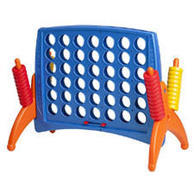 <font color=red><b>Connect 4</font><small><br>Best for ages 4+<br>Jumbo Size<br>