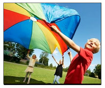 20 Ft Kids Parachute