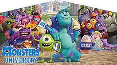 Monsters University Theme