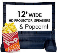 296 - Movie Night <br><b><small>Screen and Popcorn</b></small>