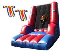 <font color=red><b>Velcro Wall</font><small><br>Best for ages 4 - 10<br>Adjustable kids size suits<br>