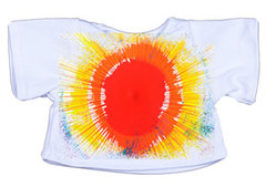 White Shirts For All Animals With Spin Art Machine
