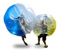 <font color=red><b>Bumper Ball<b></font><small><br>Best for ages 5+<br>Play Bubble Soccer<br>Price is per ball