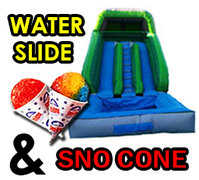 [Party Package] Water Slide & Sno Cone<br><b><font color=red>Save $15</font>