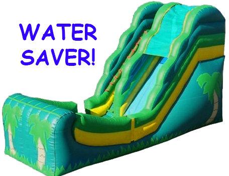 Tropical Water Slide No Pool