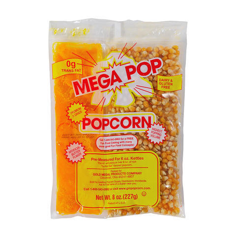 Mega Pop Corn/Oil/Salt Kit