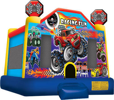 Racing Fun Bouncer