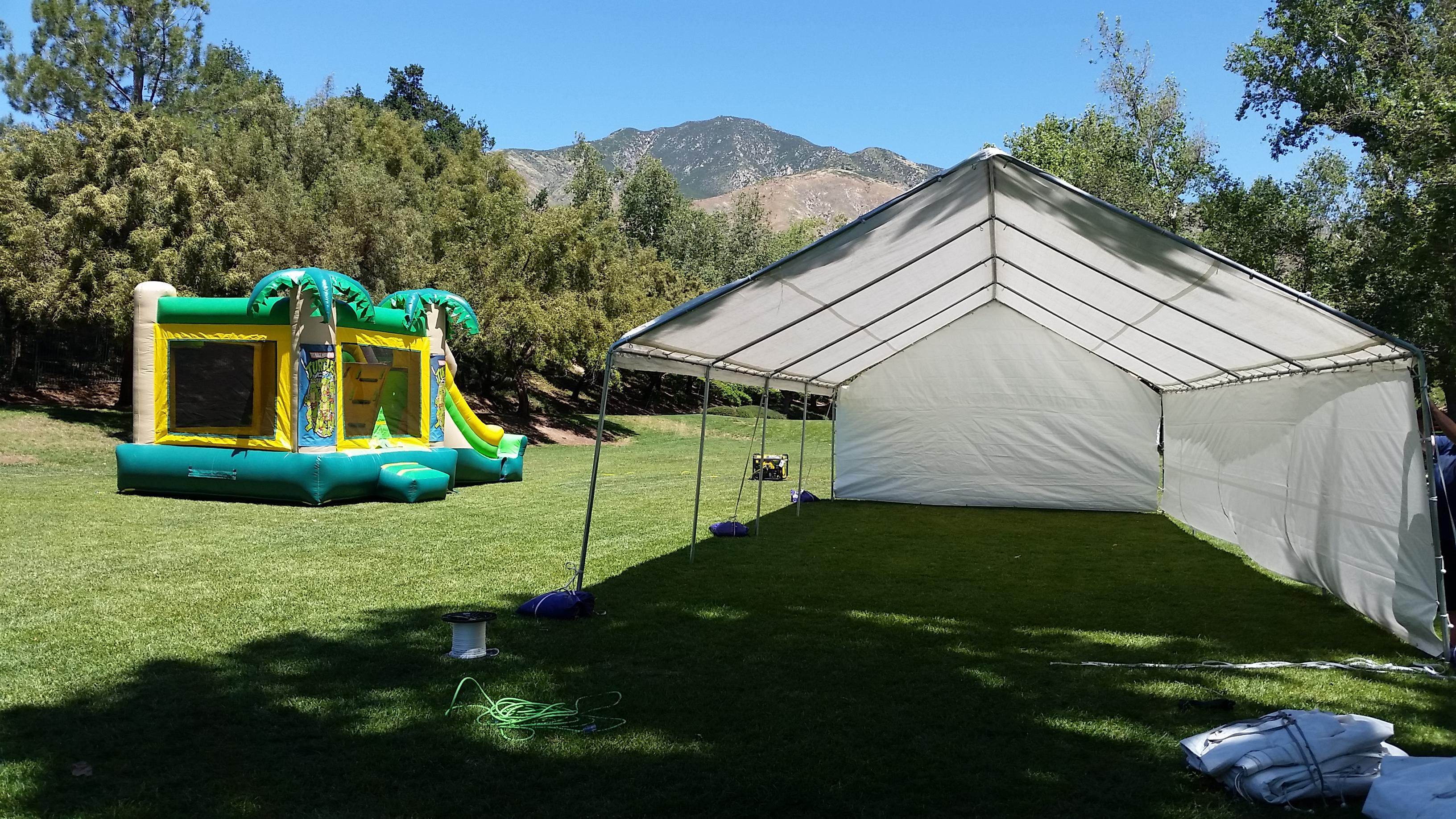 Canopy Party Tent For Rent In Azusa And Surrounding Cities