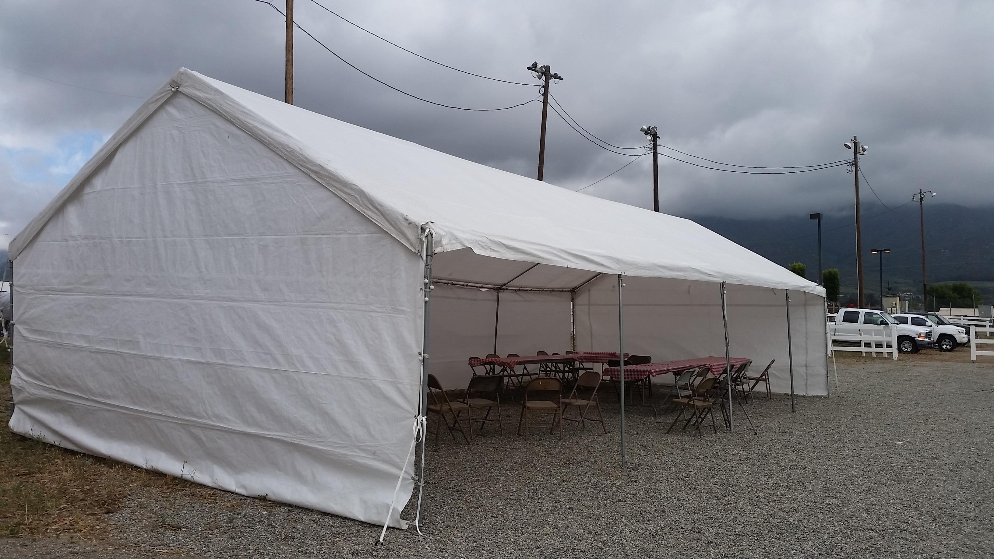 20x40 canopy & Canopy party tent for rent in Azusa and surrounding cities