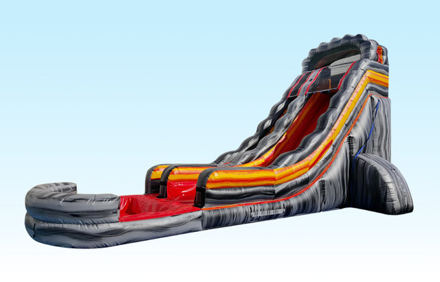 22 ft. Volcano water slide