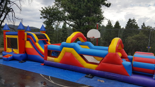 60 ft. Monster Obstacle Course