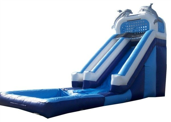 16 ft Dolphin waterslide wet/dry