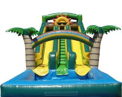 18 Ft. Paradise Sunshine waterslide