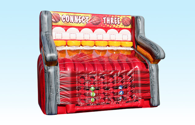 Connect 3 basketball game