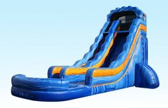 18 ft. Electric Streak water slide
