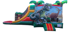 3D T-Rex Dinosaur combo with pool
