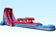 22 foot module water slide with RipTide slip and slide