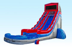 22 foot module water slide